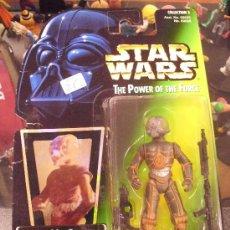 Figuras y Muñecos Star Wars: STAR WARS THE POWER OF THE FORCE - 4-LOM CON BLASTER PISTOL Y BLASTER RIFLE. Lote 27237268