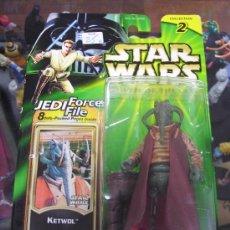 Figuras y Muñecos Star Wars: STAR WARS POWER OF THE JEDI - KETWOL. Lote 27360946