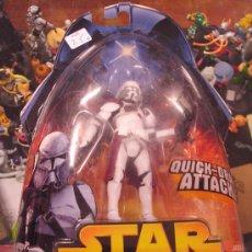 Figuras y Muñecos Star Wars: STAR WARS REVENGE OF THE SITH - COMMANDER BACARA. Lote 27378838