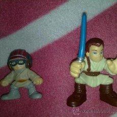 Figuren von Star Wars - GALACTIC HEROES STAR WARS EPISODIO 1 ANAKIN OBI WAN HASBRO - 27451061