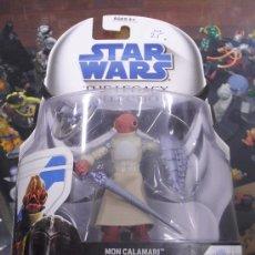 Figuras y Muñecos Star Wars: STAR WARS THE LEGACY COLLECTION - MON CALAMARI WARRIOR. Lote 27499642