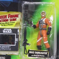Figuren von Star Wars - STAR WARS THE POWER OF THE FORCE- BIGGS DARKLIGHTER - CON DIAPOSITIVA- NUEVO!! - KENNER 1997 - 27536342