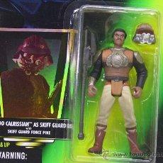 Figuras y Muñecos Star Wars: STAR WARS THE POWER OF THE FORCE- LANDO CALRISSIAN AS SKIFF GUARD - NUEVO!! - KENNER 1996. Lote 27537666