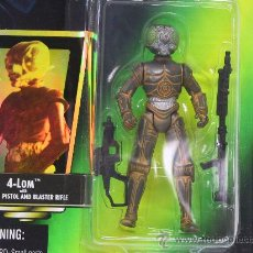 Figuras y Muñecos Star Wars: STAR WARS THE POWER OF THE FORCE- 4 LOM WITH BLASTER PISTOL AND RIFLE - NUEVO!! - KENNER 1996. Lote 27538561