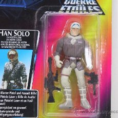 Figuras y Muñecos Star Wars: STAR WARS-HAN SOLO IN HOTH GEAR WITH BLASTER PISTOL AND ASSAULT RIFLE- NUEVO!! - KENNER 1995. Lote 149440398