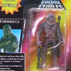 Figuras y Muñecos Star Wars: STAR WARS- SOLO BLISTER!! - CHEWBACCA WITH BOWCASTER AND HEAVY BLASTER RIFLE - KENNER 1995. Lote 149440052
