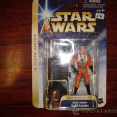 Figuras y Muñecos Star Wars: STAR WARS A NEW HOPE - DUTCH VANDER GOLD LEADER. Lote 27959021