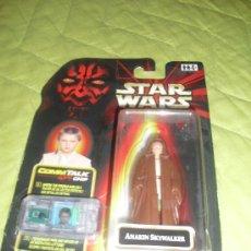 Figuras y Muñecos Star Wars: STAR WARS EPISODIO 1 - ANAKION SKYWALKER - CONSERVA EL CHIP - BLSTER ABIERTO POR DEBAJO. Lote 29660294