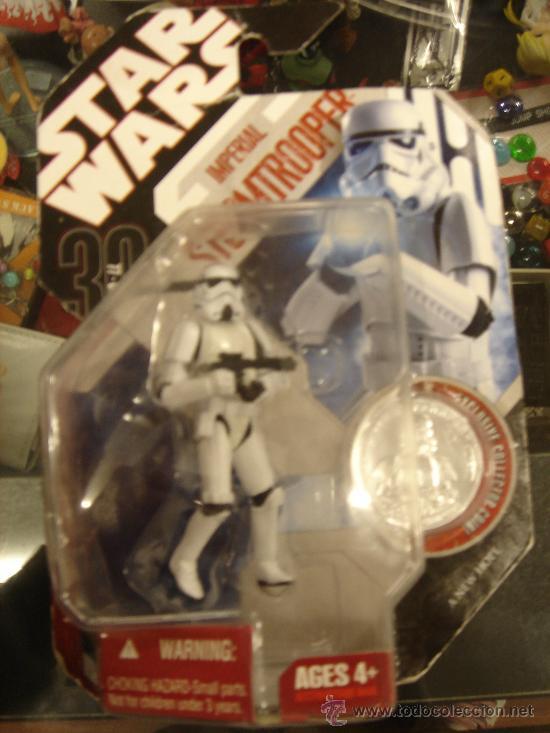 STAR WARS - IMPERIAL STORMTROOPER (Juguetes - Figuras de Acción - Star Wars)