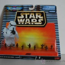 Figuras y Muñecos Star Wars: STAR WARS MICROMACHINES BLISTER JAWAS. Lote 30725401