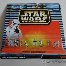 Figuras y Muñecos Star Wars: STAR WARS MICROMACHINES BLISTER IMPERIAL STORMTROOPERS. Lote 30725447