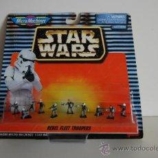 Figuras y Muñecos Star Wars: STAR WARS MICROMACHINES BLISTER REBEL FLEET TROPERS. Lote 30725461
