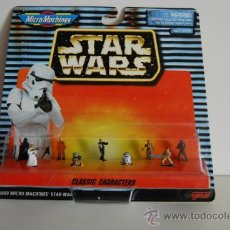 Figuras y Muñecos Star Wars: STAR WARS MICROMACHINES BLISTER CLASSIC CHARACTERS. Lote 30725478