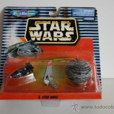 Figuras y Muñecos Star Wars: STAR WARS MICROMACHINES BLISTER X. Lote 30725486