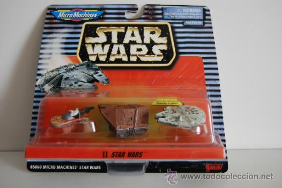 STAR WARS MICROMACHINES BLISTER II (Juguetes - Figuras de Acción - Star Wars)