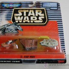 Figuras y Muñecos Star Wars: STAR WARS MICROMACHINES BLISTER II. Lote 30725511