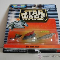 Figuras y Muñecos Star Wars: STAR WARS MICROMACHINES BLISTER VII. Lote 30725518