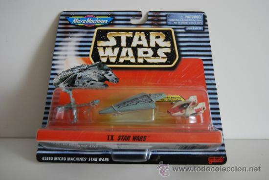 STAR WARS MICROMACHINES BLISTER IX (Juguetes - Figuras de Acción - Star Wars)