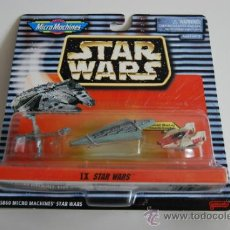 Figuras y Muñecos Star Wars: STAR WARS MICROMACHINES BLISTER IX. Lote 30725530