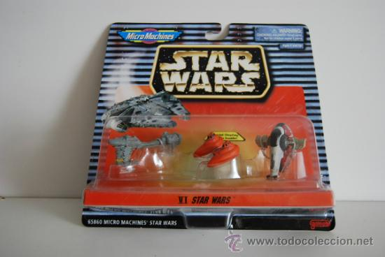STAR WARS MICROMACHINES BLISTER VI (Juguetes - Figuras de Acción - Star Wars)