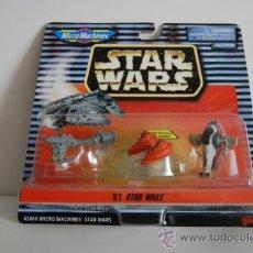 Figuras y Muñecos Star Wars: STAR WARS MICROMACHINES BLISTER VI. Lote 30725539