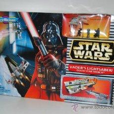 Figuras y Muñecos Star Wars: STAR WARS MICROMACHINES VADER'S LIGHTSABER. Lote 30726004