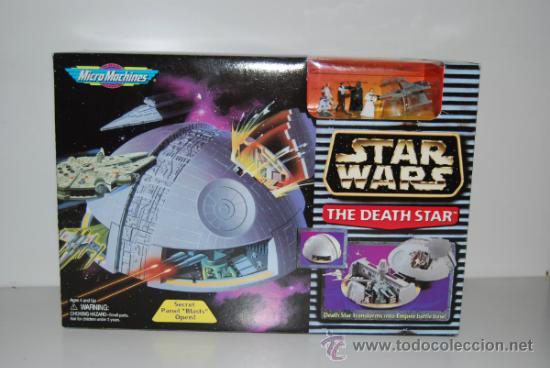 STAR WARS MICROMACHINES DEATH STAR (Juguetes - Figuras de Acción - Star Wars)