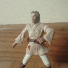 Figuras y Muñecos Star Wars: FIGURA STAR WARS: OBI-WAN KENOBI; HASBRO, AÑO 2001 - ARTICULADA. Lote 181393802