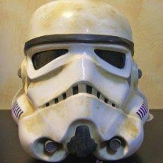 Figuras y Muñecos Star Wars: STAR WARS, CASCO DE SANDTROOPER, SOLDADO IMPERIAL DESTINADO EN TATTOINE, TAMAÑO REAL, USA, AÑOS 90.. Lote 31681915