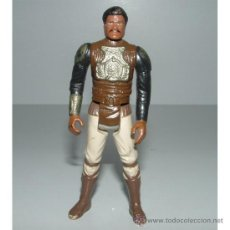 Figuras y Muñecos Star Wars: FIGURA STAR WARS LANDO CALRISSIAN SKIFF VINTAGE 1982 FIGURE GUERRA GALAXIAS. Lote 32934572