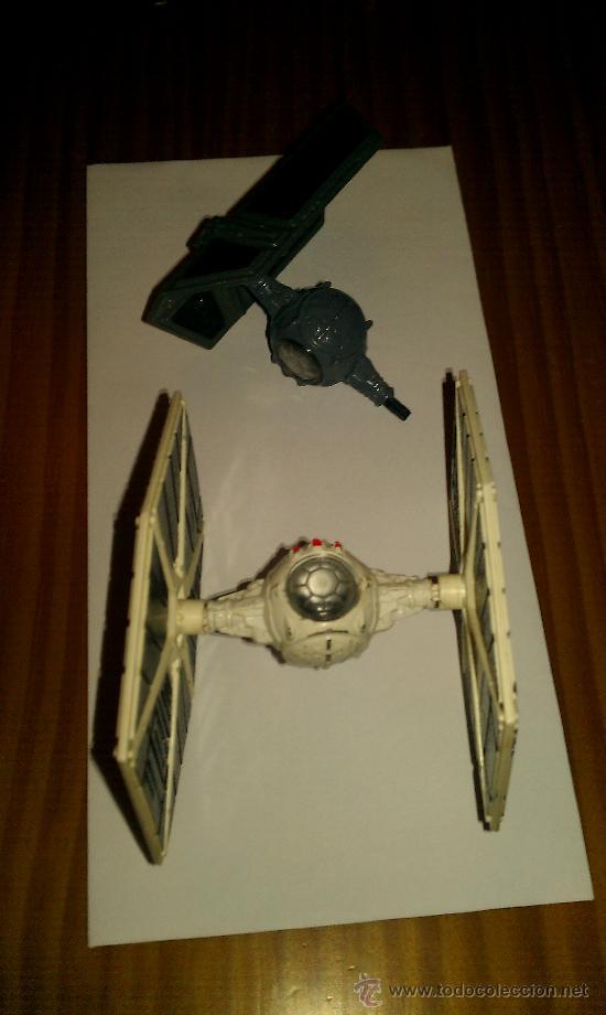 LOTE ANTIGUAS NAVES STAR WARS KENNER PRODUCTS INC. CINCINNATIC OHIO. USA. AÑOS 70/ 80 (Juguetes - Figuras de Acción - Star Wars)