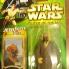 Figuras y Muñecos Star Wars: STAR WARS POWER OF THE JEDI - PLO KOON (JEDI MASTER). Lote 33708317