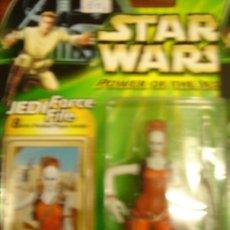 Figuras y Muñecos Star Wars: STAR WARS POWER OF THE JEDI - AURRA SING (BOUNTY HUNTER). Lote 33708431