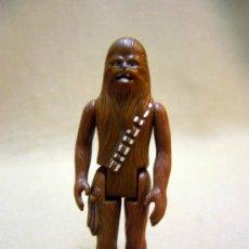 Figuras y Muñecos Star Wars: FIGURA DE PLASTICO, ARTICULADA, STAR WARS, LA GUERRA DE LAS GALAXIAS, CHEWAKA, 10 CM, 1977. Lote 35120012