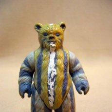 Figuras y Muñecos Star Wars: FIGURA DE PLASTICO, ARTICULADA, STAR WARS, LA GUERRA DE LAS GALAXIAS, 7.5 CM, TEEBO EWOK, 1984. Lote 35120193