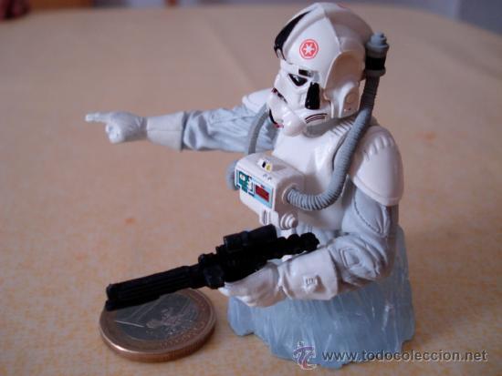 Figuras y Muñecos Star Wars: Mini busto de Gentle Giant de un Piloto de AT-AT. Muy detallado. . - Foto 2 - 34696208