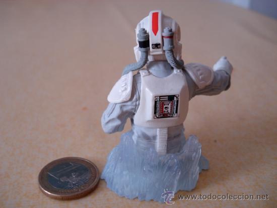 Figuras y Muñecos Star Wars: Mini busto de Gentle Giant de un Piloto de AT-AT. Muy detallado. . - Foto 4 - 34696208