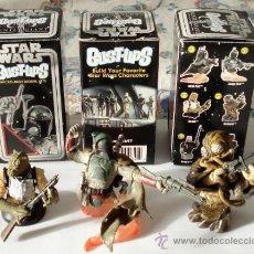Figuras y Muñecos Star Wars: LOTE DE TRES MINI BUSTOS DE GENTLE GIANT, CAZA-RRECOMPENSAS. TODOS EN .. Lote 34695986