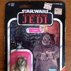 Figuras y Muñecos Star Wars: NO.93670 ASST.69570 71580 STAR WARS RETURN OF THE JEDI EWOK LUMAT KENNER 1984 FIGURA NÚMERO 13. Lote 35583511