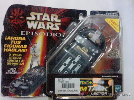 STAR WARS -COMTALK LECTOR -ELECTRONICO HASBRO 1999-- SONIDOS DE LAS VOCES DE TUS HEROES (Juguetes - Figuras de Acción - Star Wars)