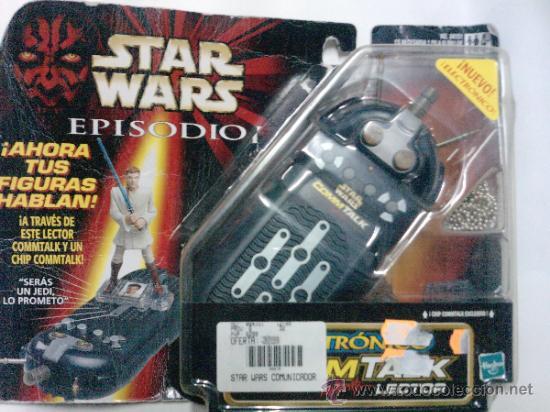 Figuras y Muñecos Star Wars: STAR WARS -COMTALK LECTOR -ELECTRONICO HASBRO 1999-- SONIDOS DE LAS VOCES DE TUS HEROES - Foto 2 - 35858511