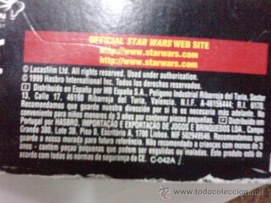 Figuras y Muñecos Star Wars: STAR WARS -COMTALK LECTOR -ELECTRONICO HASBRO 1999-- SONIDOS DE LAS VOCES DE TUS HEROES - Foto 6 - 35858511
