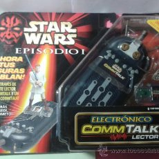 Figuras y Muñecos Star Wars: STAR WARS EPISODIO I ELECTRONICO COMMTALK LECTOR HASBRO BLISTER NUEVO. Lote 36256906