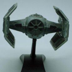 Figuras y Muñecos Star Wars: TIE ADVANCE X1 NAVE STAR WARS DARTH VADER ACTION FLEET HASBRO 2002 CON EXPOSITOR. Lote 36455514