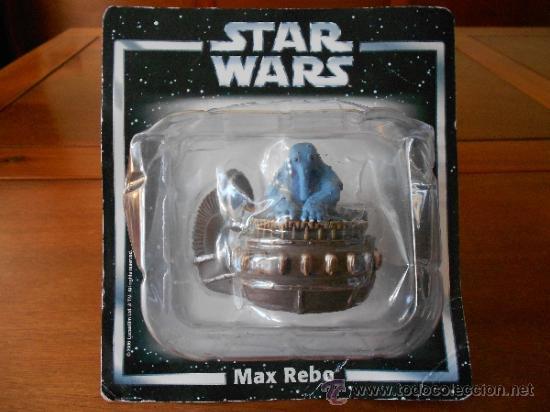 STAR WARS: MAX REBO (LUCASFILM & TM LTD 2006) FIGURA METAL SIN ESTRENAR. ESCALA 1:32 (Juguetes - Figuras de Acción - Star Wars)