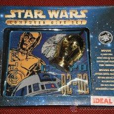 Figuras y Muñecos Star Wars: STAR WARS - RATON Y ALFOMBRILLA PARA ORDENADOR - R2-D2 - A ESTRENAR. Lote 36555686