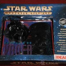 Figuras y Muñecos Star Wars: STAR WARS - RATON Y ALFOMBRILLA PARA ORDENADOR - DARTH VADER - A ESTRENAR. Lote 36555834