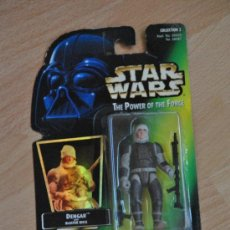 Figuras y Muñecos Star Wars: FIGURA DENGAR - THE POWER OF THE FORCE - STAR WARS-KENNER - GOLY. Lote 36596683