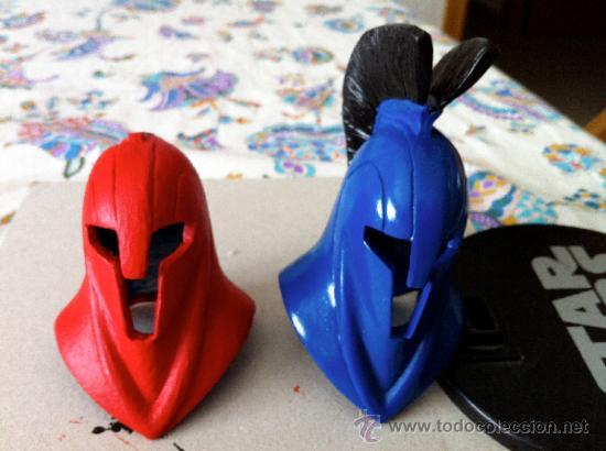 Figuras y Muñecos Star Wars: STAR WARS. Casco de guardia pretoriana del emperador Sith. Para customizar figuras escala 1/6. - Foto 5 - 37059419