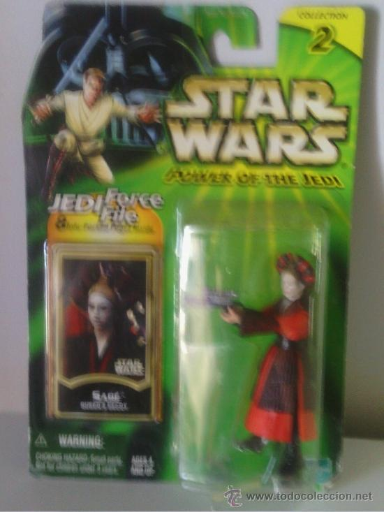 STAR WARS POWER OF THE JEDI BLISTER AMIDALA (Juguetes - Figuras de Acción - Star Wars)